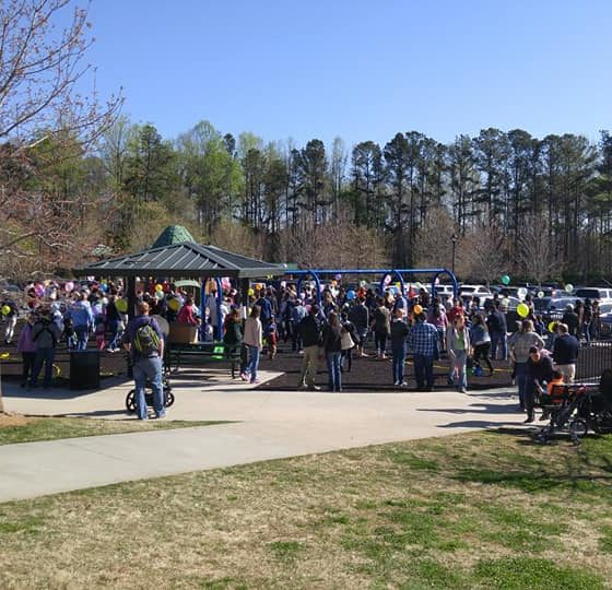 Easter Egg Hunt Crowd
