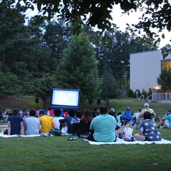 Movie Nights in Mason Mill Park