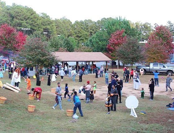 Fall Festival Games in Mason Mill Park